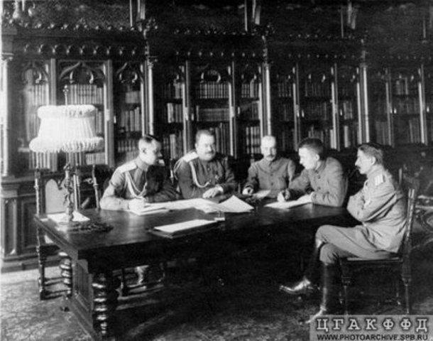 Nuevo Gobierno Provisional en Rusia. Kerensky