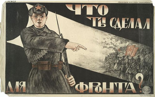 GUERRA CIVIL (1918-1921). 3ª ETAPA REV. RUSA