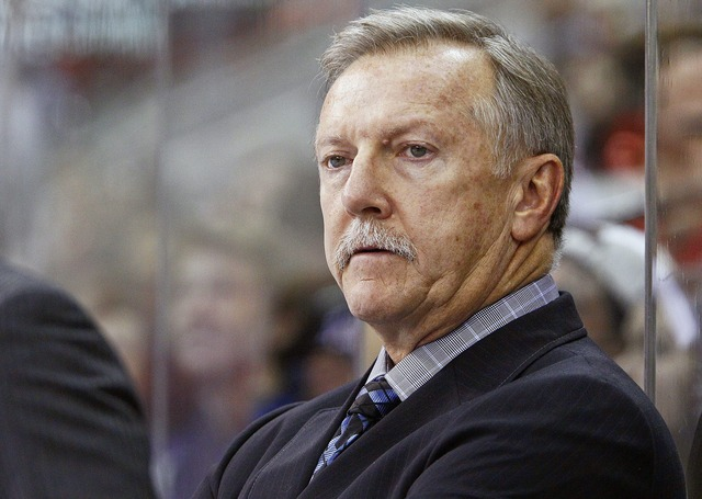 Ron Wilson let go as coach of the Maple Leafs