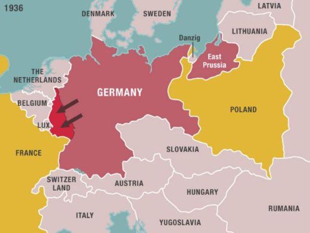 Remilitarización de Renania.