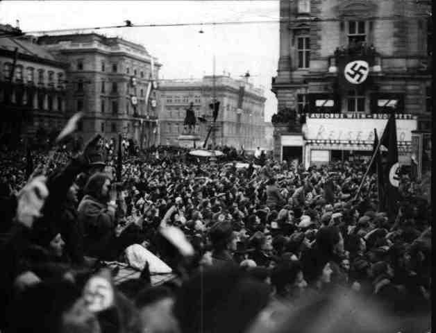 Los alemanes ocupan Austria