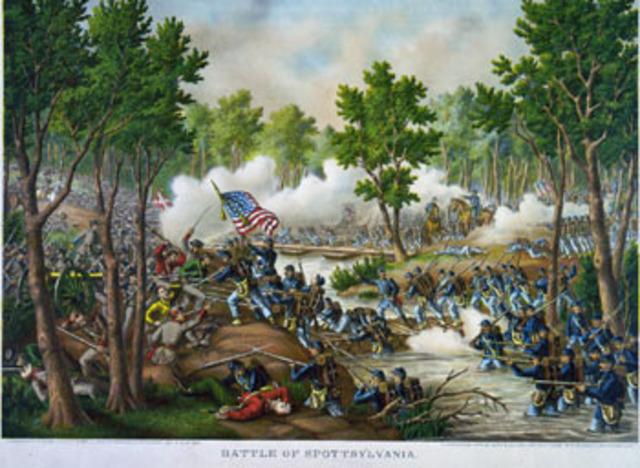 The Battle of Spotsylvani
