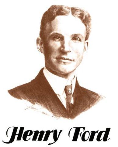 Linea de Ensamblaje por Henry Ford