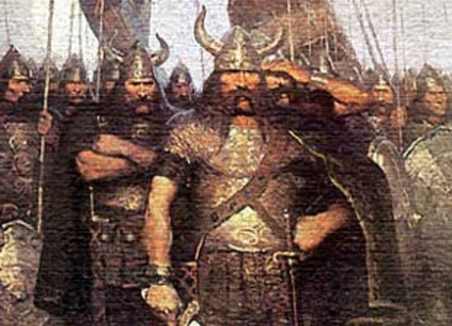 Les Vikings crée des établissements a Dublin et Irlande
