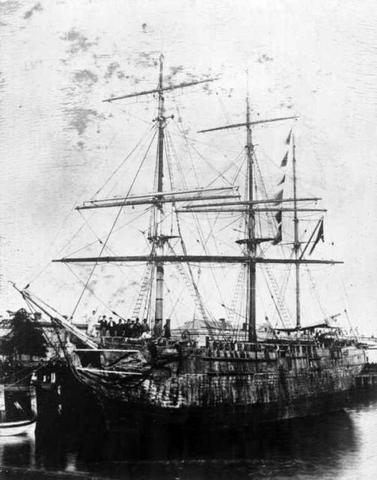 Transport of convicts