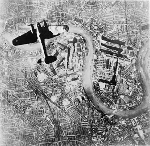 Batalla aérea de Inglaterra.