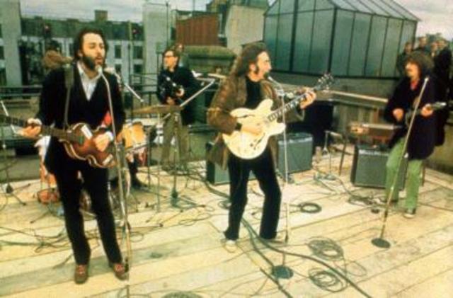 The Beatles rooftop concert