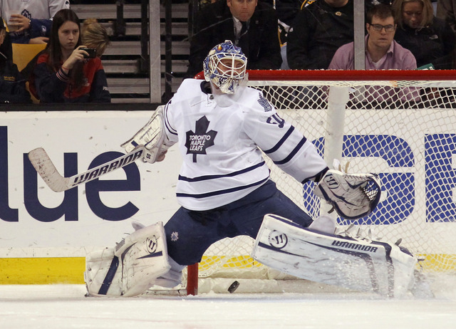 Burke places importance in goaltending