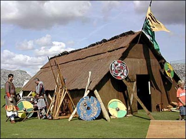 les Vikings tentent de fondre une colonie en Amérique du nord