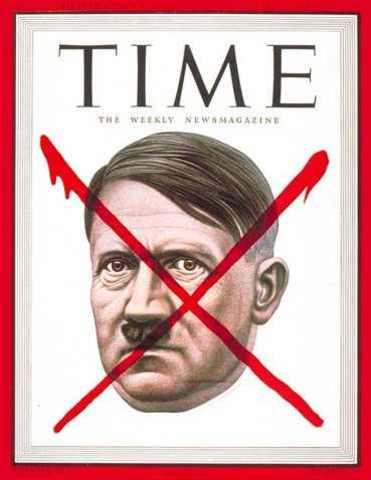 Hitler y colaboradores se suicidan.