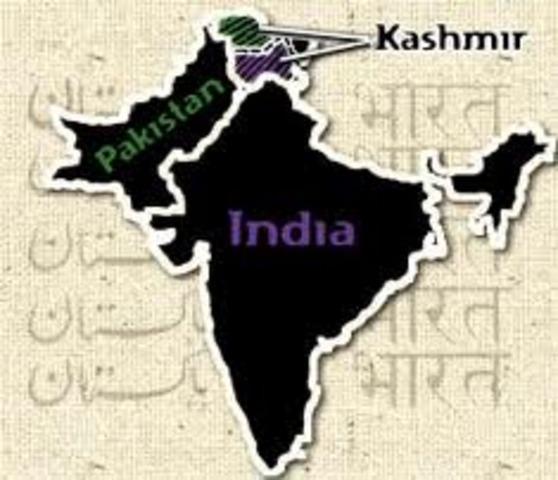 India and Pakistan split