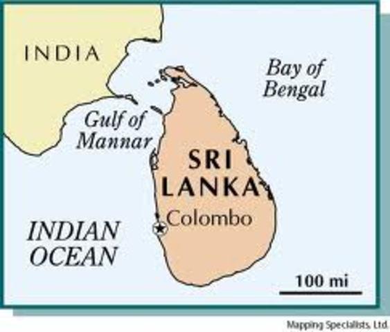 Sri lanka gains independence