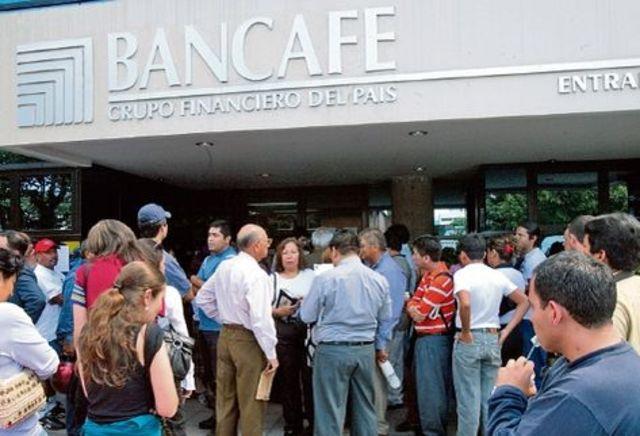 Bancafe llega a la bancarrota