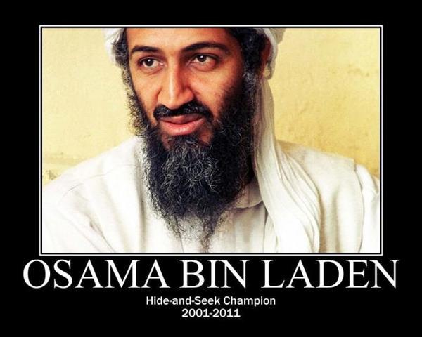 osama bin laden gets killed