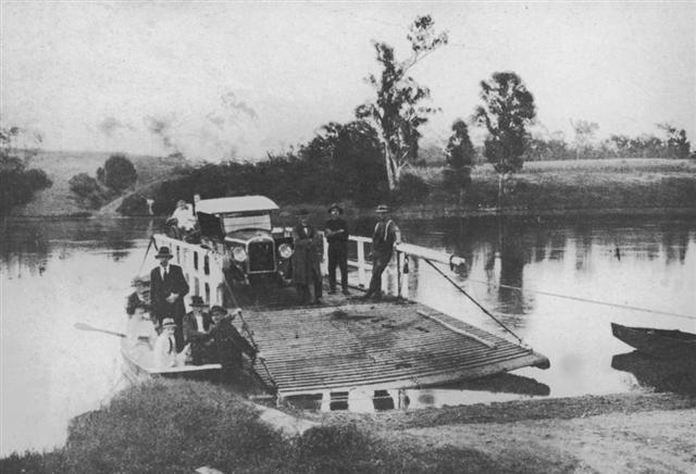 First ferry in Brisbane