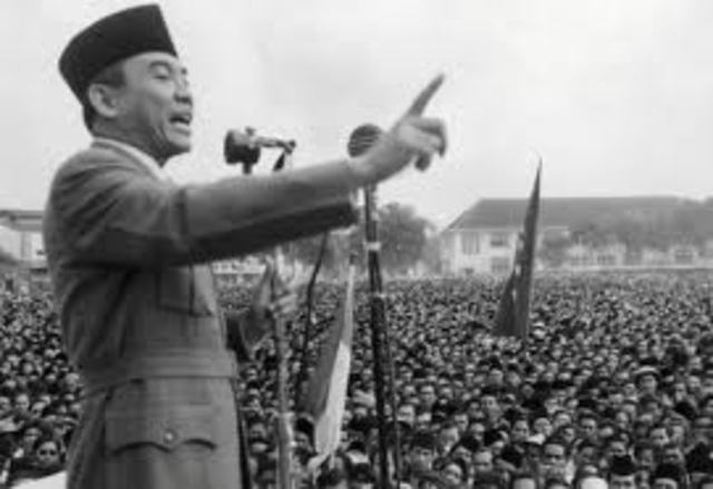 Indonesia gains independence