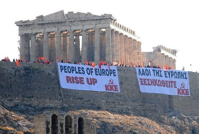 Problemas Economicos en Grecia