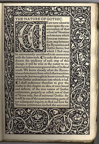 imprenta Kelmscott