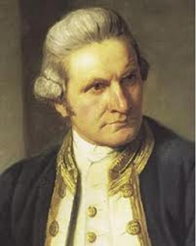 discovery of Brisbane by Captain Cook