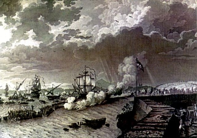 The Battle at Toulon