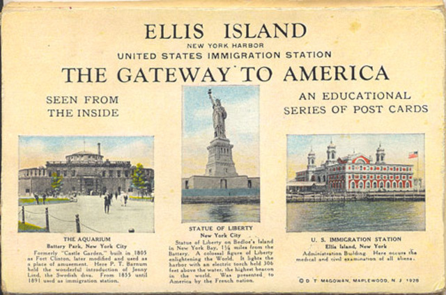 Congress appoints Ellis Island as the first Federal Immigration station