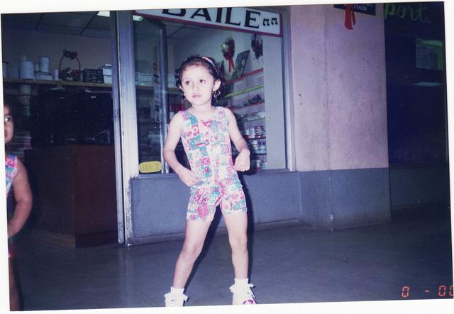 Mi primer año en un grupo de baile