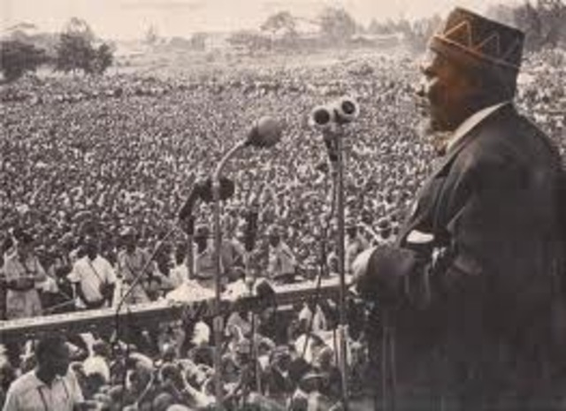 Kenya gains independence