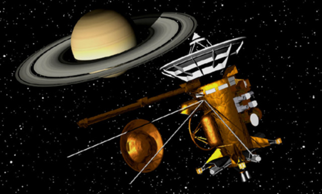 Launch of the Cassini/Huygens probes