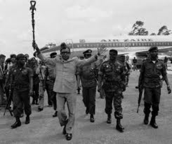 The Congo gains independence