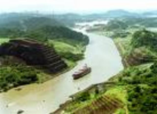 Panamal Canal Compeleted
