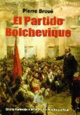 Nacimiento del partido bolchevique