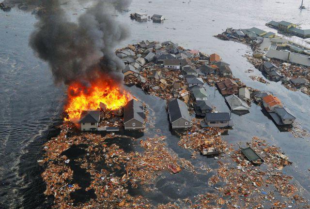 Terremoto en Japón, Tsunami