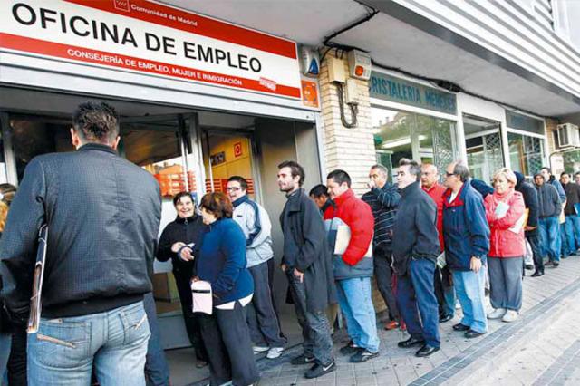 Crisis de desempleo en España