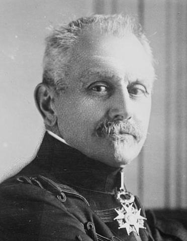 General Maunoury, sufre un violento ataque alemán