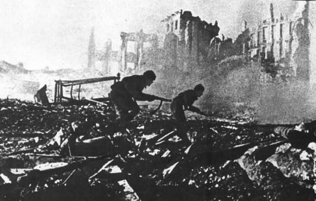 Victoria de los rusos en Stalingrado
