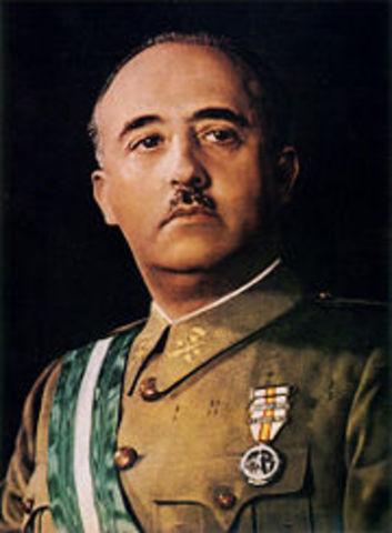 Franco, jefe del Estado Mayor del Ejército.