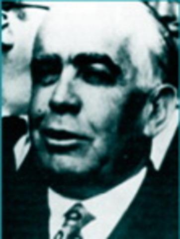 Dimisión de Joaquín Chapaprieta.