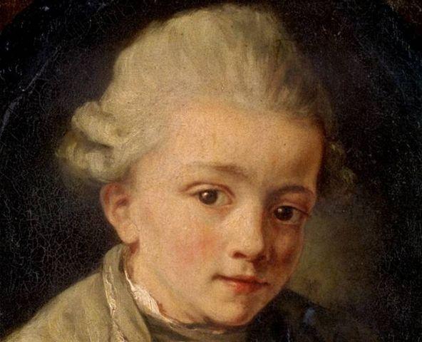 Nacimiento de Mozart.