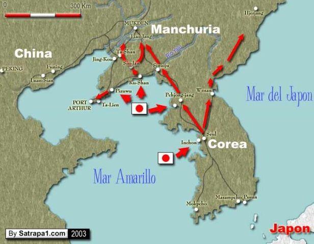 Guerra Ruso Japonesa