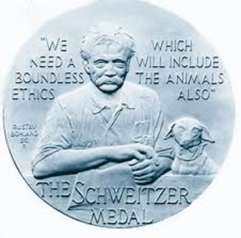 Albert Schweitzer Award from Animal Welfare Institute