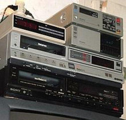 Betamax.
