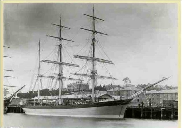 Transportation to convicts to N.S.W