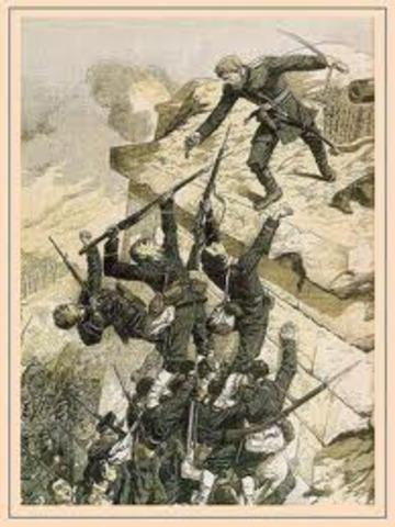 Guerra ruso-japonesa.
