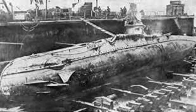 Alemania intensifica la guerra submarina