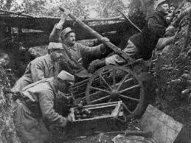 Fracaso de la ofensiva alemana.