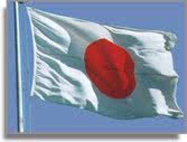 Japón crea un estado.