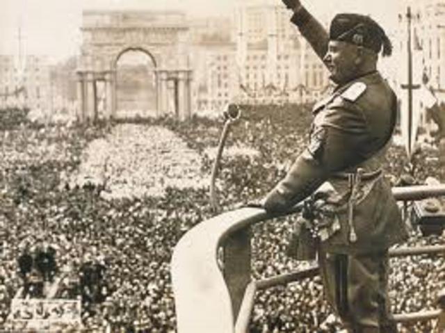 Fascismo Italiano.