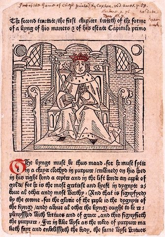 William Caxton Prints The First English Books