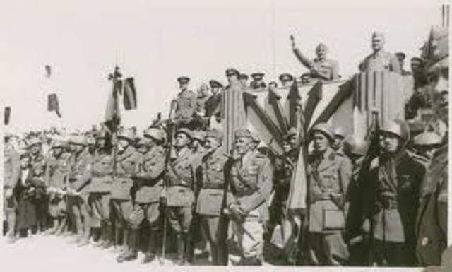Intervención en la Guerra Civil Española