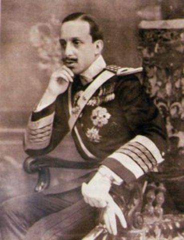 Exilio de Alfonso XIII